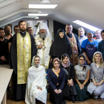First lesson of the Lavra's Art School for Children takes place
