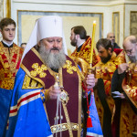 Владыка Наместник возглавил Акафист св. Варваре