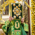 Head of UOC led solemnities on Synaxis of Near Caves' Venerable Fathers