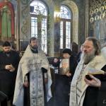 Наместник Лавры совершил литию по В. Семяновскому