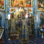 Митрополит Павел совершил Литургию в с. Ольхе