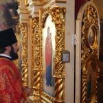 Митрополит Павел возглавил Литургию в с. Борбине
