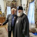 Митрополит Павел вручил высокую награду реставратору лаврских храмов