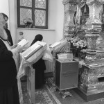 Наместник Лавры молился у мощей блаженной Матроны