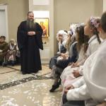 Благочинный Лавры поздравил детский хор с грядущим Рождеством