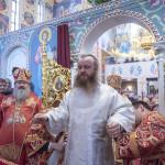 Намісник співслужив Предстоятелю в день пам'яті вмц. Варвари