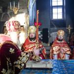 В день памяти св. Екатерины владыка Павел совершил Литургию