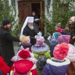 Владыка Павел встретился с детьми из Волыни