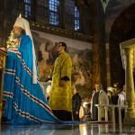 Митрополит Павел прочел второй Рождественский трипеснец