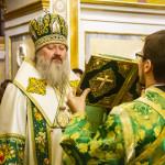Намісник Лаври очолив Літургію в новорічну ніч