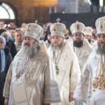 В праздник Рождества Христова богослужения в Лавре возглавил Предстоятель УПЦ