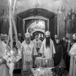 В субботу перед Рождеством Христовым Наместник Лавры совершил богослужения
