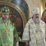 Митрополит Павел совершил Литургию в лаврском скиту