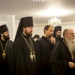 Братия Лавры поздравили Священноначалие с Рождеством Христовым