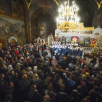 В Лавре прошел IХ Всеукраинский фестиваль колядок и щедривок «Рождественский перезвон»