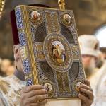 Священноархімандрит Лаври очолив Літургію у Водохресний святвечір