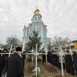Митрополит Павел посетил Золотоношский монастырь