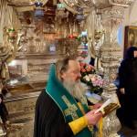 Митрополит Павел молився біля мощей блж. Матрони і прп. Сергія