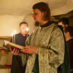 Намісник Лаври звершив нічну Літургію