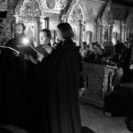 Чтение Великого покаянного канона в Лавре