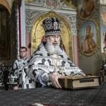 Первая в этом году Литургия Преждеосвященных Даров совершена в Лавре
