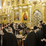 Vicegerent of the Lavra perfomed morning services on Clean Monday