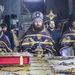 Митрополит Павел очолив Літургію в суботу вмч. Феодора Тирона
