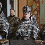 Владыка Павел совершил Литургию Преждеосвященных Даров в Великой церкви