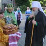 В День Святого Духа митрополит Павел совершил Литургию в храме св. Варвары