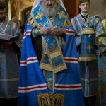 Vicegerent of Lavra performed acathistus chant to Dormition of Theotokos