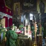 The Head of UOC led solemn services honoring venerable Anthony
