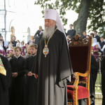 The Festive services on Rus' Baptizing Day were led by Metropolitan of Kyiv and All Ukraine