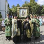 Предстоятель УПЦ очолив урочистості на честь прп. Антонія Печерського