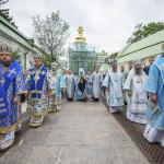 Священноархимандрит Лавры возглавил богослужения праздника Успения