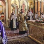 Богослужения первого дня Успенского поста возглавил митрополит Павел
