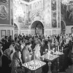 Чин погребения плащаницы Божией Матери совершил Священноархимандрит обители