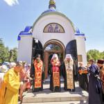 Митрополит Павел возглавил торжества в городе Никополе