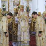 Предстоятель УПЦ возглавил богослужения 6-летия своей интронизации