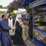 Владика Намісник відкрив виставку-ярмарок «Медовий Спас»