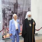 Намісник Лаври взяв участь у відкритті виставки «Благодаті повна»