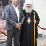 Наместник Лавры принял участие в открытии выставки «Благодати исполненная»