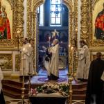Предстоятель УПЦ совершил отпевание духовника Лавры
