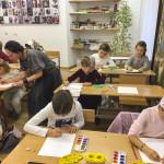Первые уроки прошли в лаврской воскресной школе