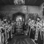 Наместник Лавры возглавил Акафист Успению Пресвятой Богородицы