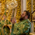 Торжества в честь преподобных Дальних пещер возглавил Предстоятель УПЦ