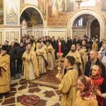 В Неделю 22-ю по Пятидесятнице Предстоятель УПЦ совершил Литургию в Лавре