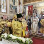 В Неделю 23-ю по Пятидесятнице Наместник Лавры совершил богослужения в Мукачевской епархии