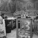 Наместник Лавры почтил память свт. Иоанна Златоуста