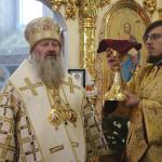 Владыка Павел совершил заупокойные богослужения в монастыре с. Низкиничи