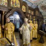 Владыка Павел и братия почтили икону Богородицы «Скоропослушница»